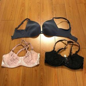 3 Victoria's Secret Bras BUNDLE!